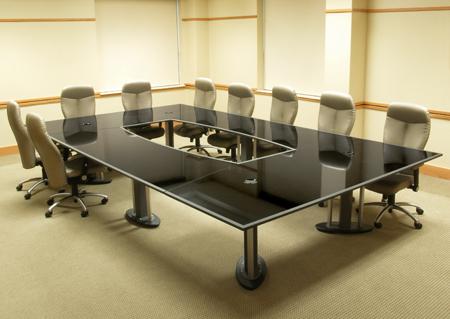 Conference Table Manufacturer Vadodara Spandan Enterprises - Elegant conference table