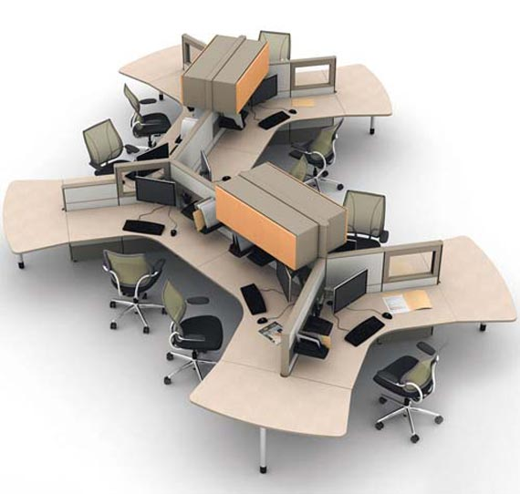 25 Cool Modular Home Office Furniture Designs: Modular Office Furniture Surat