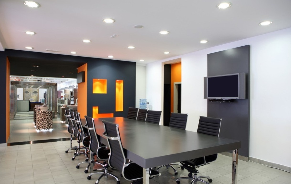 Office interior furniture designer surat interior for Contemporary office interior design