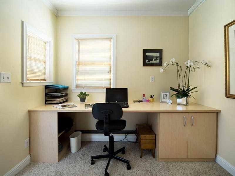 exciting home office design ideas colors | Colors for Painting Small Offices | Office Color Painting Ides