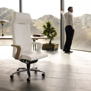 comfort of an ergonomic chair